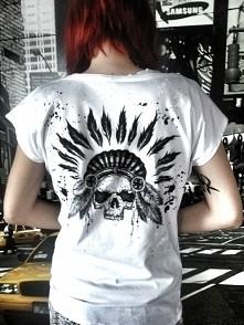 koszulki ręcznie malowane. ...