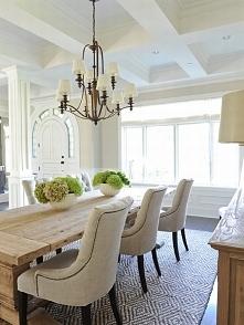 Kącik jadalny czyli strefa śniadaniowa w amerykańskim domu - jak ją zaprojektować, jak urządzić, jak zaaranżować? Mnóstwo inspiracji na to, jak urządzić strefę śniadaniową w Two...