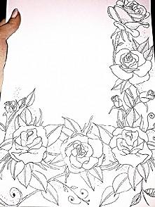 pierwszy projekt tatuażu na zamówienie.  Uzupełnienie rękawa  część ramienia. :-)