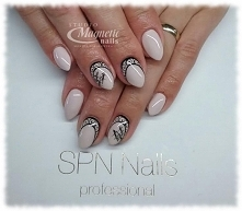 SPN Gel LaQ 155 Elegantly   Nails by Monika, Studio Magnetic Nails, SPN Nails...