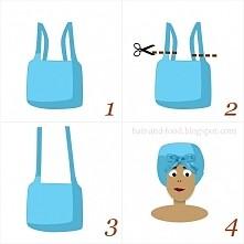 Jak zrobić czepek do maski do włosów z reklamówki ;)