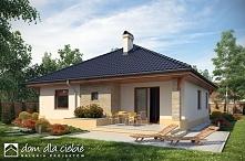 Marcel - projekt uroczego parterowego domu jednorodzinnego
