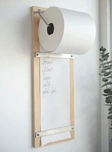 Inne wykorzystanie papieru toaletowego/ręcznika papierowego :) (ps. Zapraszam...