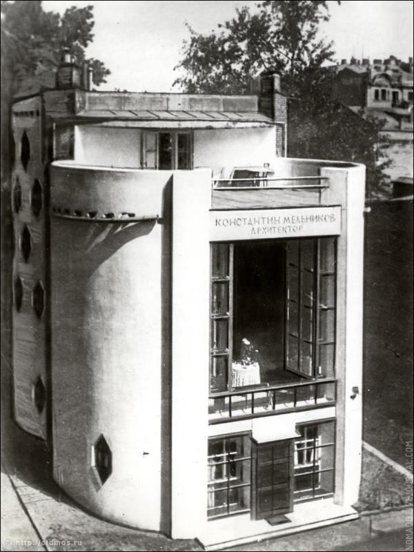 ••Melnikov House 1930 by Konstantin Melnikov