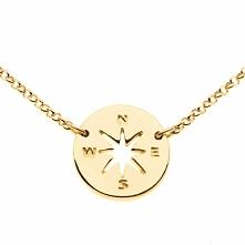 Naszyjnik w kształcie Compassu. Wskaże Ci drogę do tego, czego pragniesz najb...