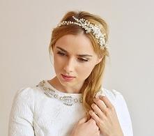 Ręcznie wyplatany wianuszek ślubny dla panny młodej :)  Dostępny w sklepie in...