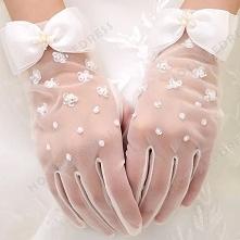 Wrist Length Glove Spring Autumn Bridal Gloves