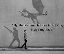my own world.