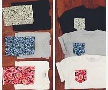 Super pomysł na ożywienie koszulek <3