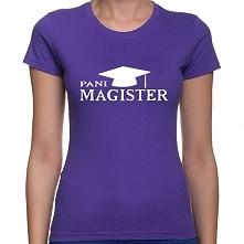 Koszulka Pani Magister - pr...