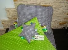Firma KIMI-STYL oferuje komplet minky kocyk,poduszka a w gratisie przytulaczek :) zapraszamy na fanpage na facebooku: KIMI-STYL oraz na zakupy w sklepie: kimistyl.skycart.pl