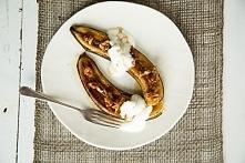 Pieczony banan w syropie klonowym  Przepis na naszej stronie
