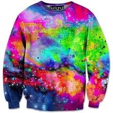 Neonowa Bluza Galaxy !!!!