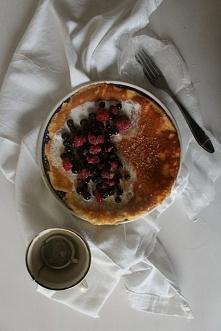 Przepis po kliknięciu w zdjęcie - omlet z kaszą manną