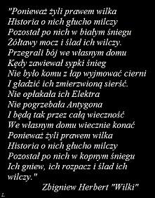 """""""Wilki"""" Zbigniew ..."""