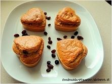 Muffinki jaglane   Składniki: 1 szklanka kaszy jaglanej 3 jajka 1 łyżka jogur...