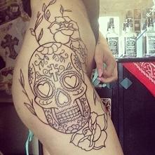 Piękny tatuaż Deynn <3