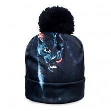 Beanie Czarny Kot