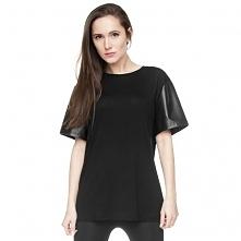 T-shirt Sleeve Eko skóra