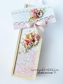 Kartka ślubna kopertówka i ...