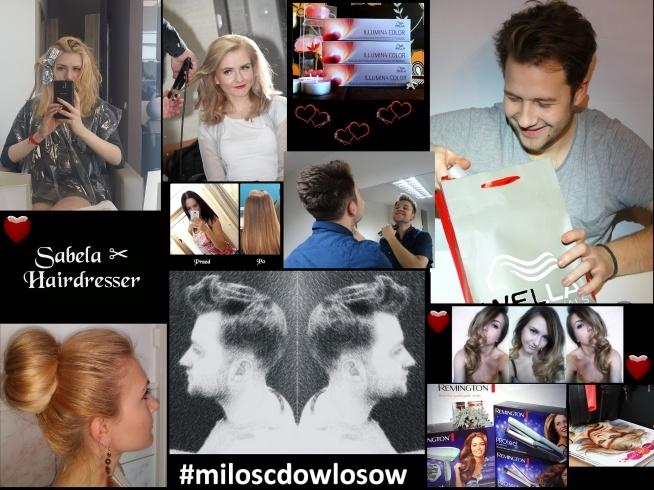 Konkurs na blogu ;) Pokaż nam swoją #miloscdowlosow ;)