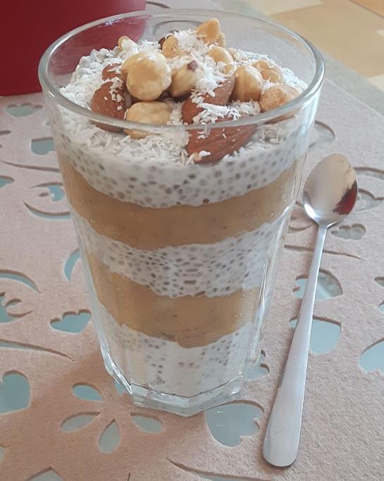 Pudding Chia! Smaczny, zdrowy, sycący! Śniadanie idealne! Zapraszam! Myappetite