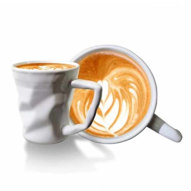 Kubek gnieciony do kawy