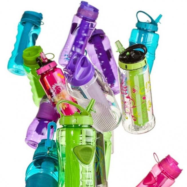 Butelka z wkładem wchodzący kobiece kolory :)