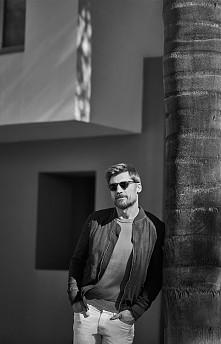Nikolaj Coster-Waldau, photographed by Blair Getz Mezibov for Mr. Porter, Feb...