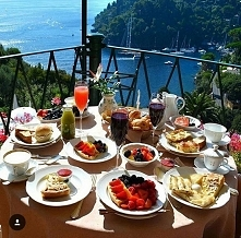 Breakfast with view ...