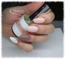 Silk Touch & Ice Coffe    Nails by Monika, Studio Magnetic Nails, SPN Nai...