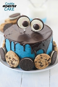 tort ciasteczkowy potwór ;)