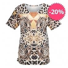 T-shirt Fullprint Gepard