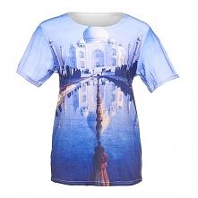 T-shirt Fullprint Tadź Mahal