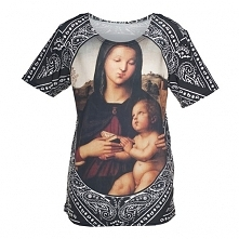 T-shirt Fullprint Lady Mary Bandana