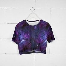 T-shirt Crop Galaxy