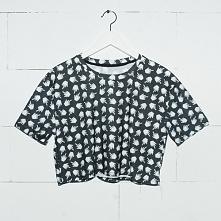 T-shirt Crop Pixel Fuck