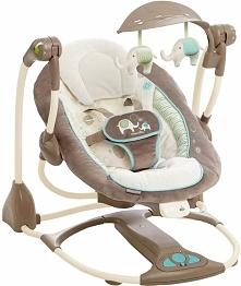 Huśtawka hybrydowa ukołysze każde niemowlę.