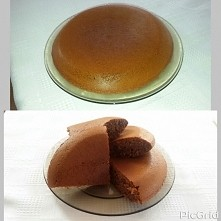śniadanko- inspiracja od be_fit_and_strong ;) niczym omlet, a bardziej ciasto...