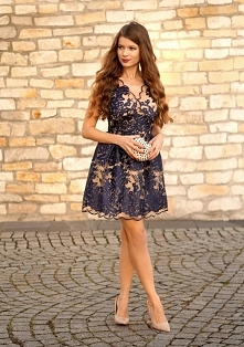 cudo <3 koronkowa sukienka Illuminate