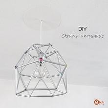 Lampa ze słomek - à la lamp...