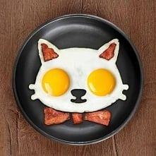 Foremka do jajka kotek :)