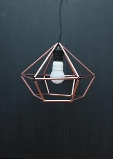 Lampa ze słomek à la lampa ...