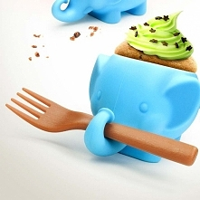 Foremka do muffinów słonik