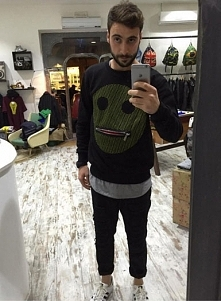 Bluza projektanta Francesco Rasola sklep WWW EMPATI PL