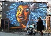 Król ból - murale Wrocław