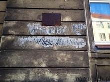 Tajemniczy napis - graffiti Wrocław