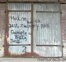 Czarodziejka z Jowisza - graffiti Wrocław