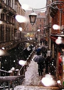 Wenecja zimą