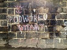 Podwórku witamy - graffiti Wrocław